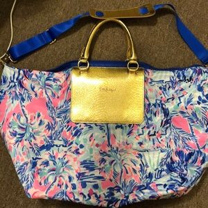 New Lilly Pulitzer Packable tote